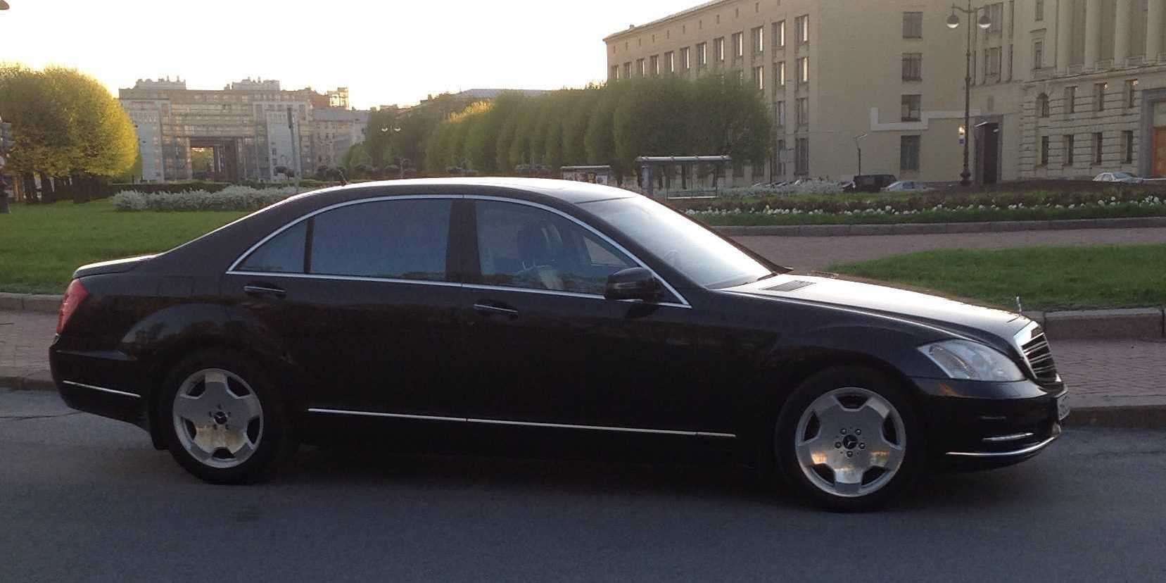 Трансфер бизнес-партнеров в СПб
