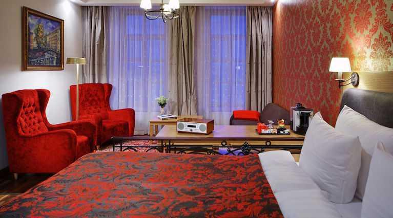 Люкс Solo Sokos Hotel Vasilievsky