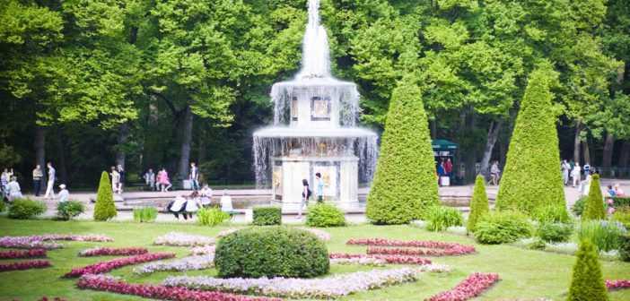 Экскурсия по Нижнему Парку Петергофа