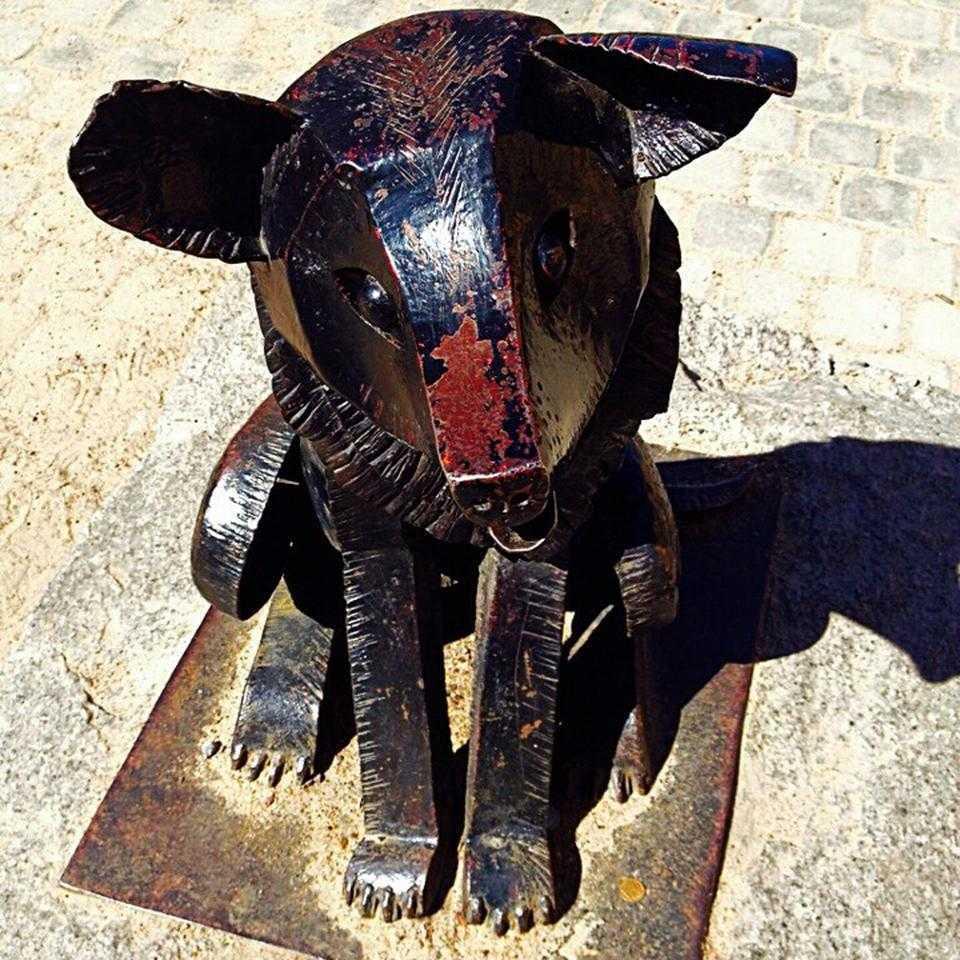 Памятник псу Гаврюше СПб