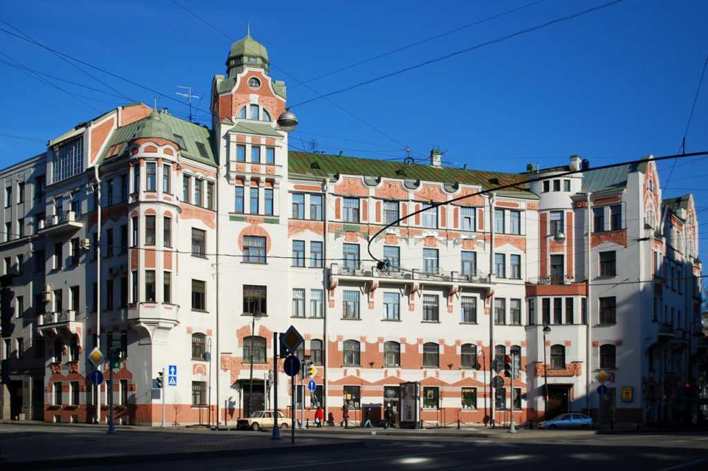 Дом К.Х. Кельдаля на Австрийской площади