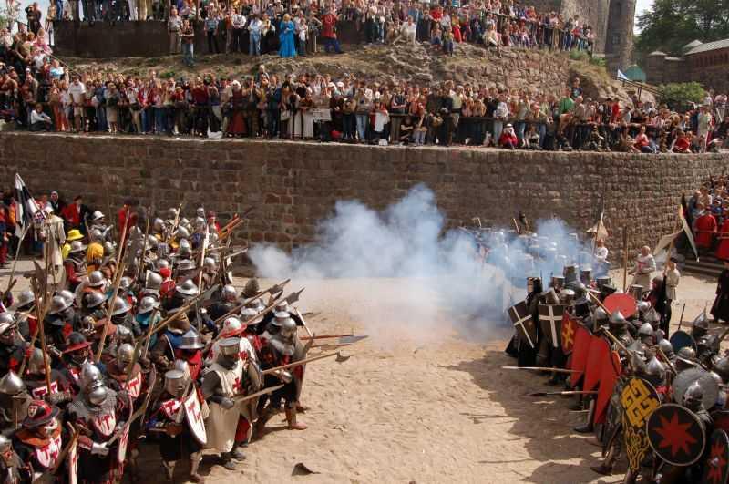 Средневековый турнир «Рыцарский замок»