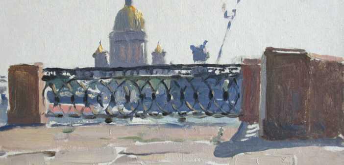 Рисунок ограды Университетской набережной