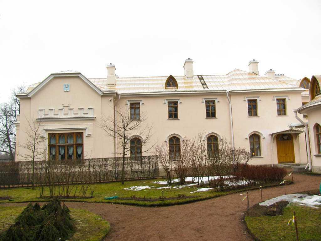 Парк Александрия зимой