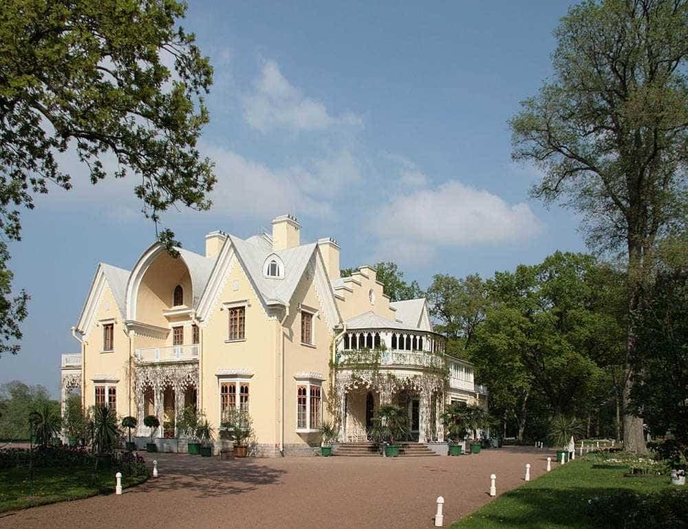 Дворец коттедж