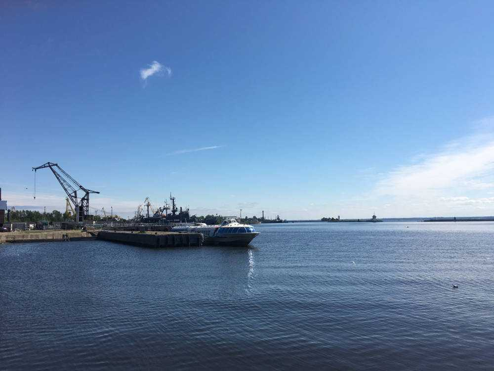Кронштадт порт