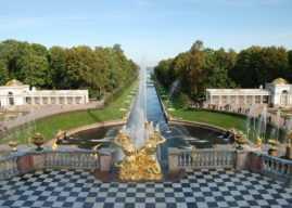 Экскурсия по аллее фонтанов Нижнего парка Петергофа