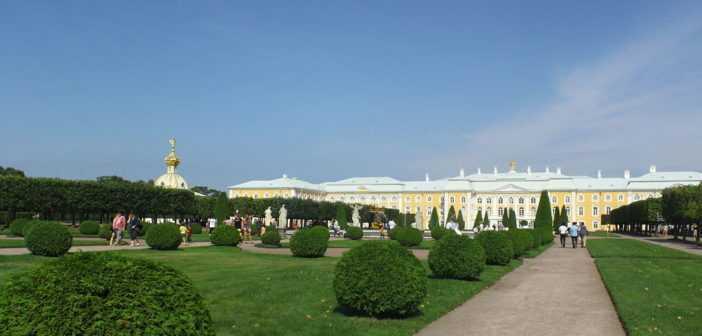Верхний парк Петергоф
