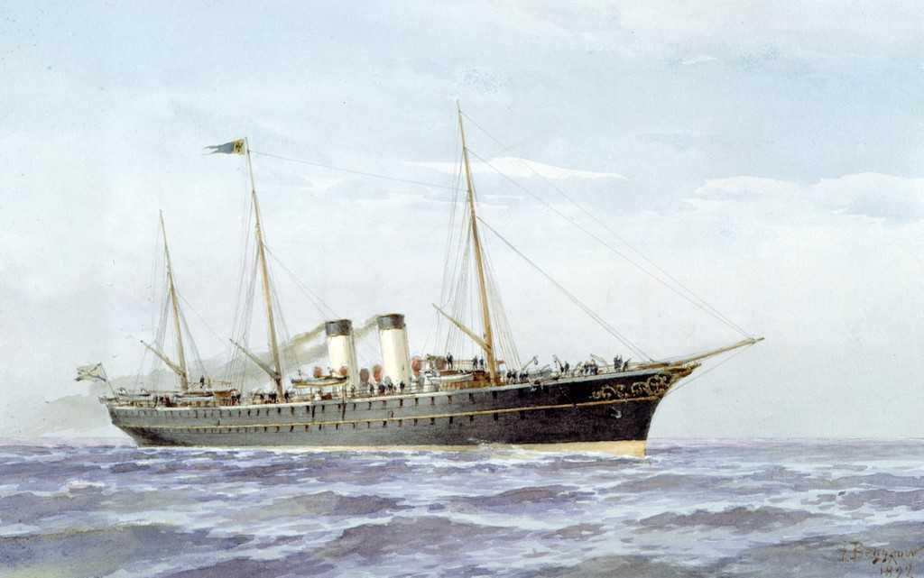 Императорские яхты